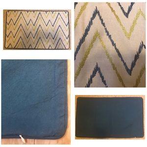 Zig-Zag Embroidery Pillowcase